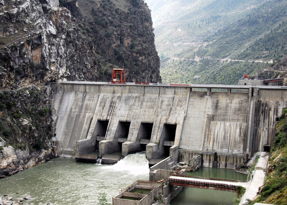 dulhasti power project on which river