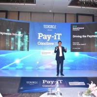 Rajesh Dhar, Senior Director - Hybrid IT, HPE delivering the opening address