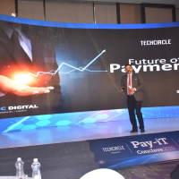 Shalil Gupta, CBO, Mosaic Digital, during his keynote presentation on the Future of Payments